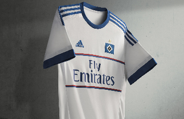 Hamburger SV 2015 2016 adidas Home and Third Football Kit, Shirt, Soccer Jersey, Trikot, Heimtrikot