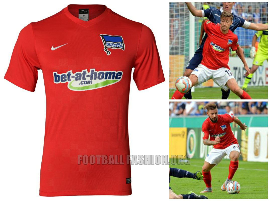 Hertha Berlin 2015 2016 Nike Home ff4b2e398