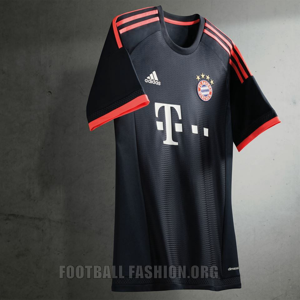fc bayern m nchen 2015 16 adidas champions league kit. Black Bedroom Furniture Sets. Home Design Ideas