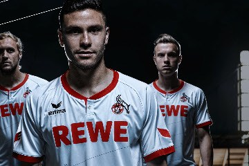 1. FC Köln 2015 2016 Erima Home, Away and Third Football Kit, Soccer Jersey, Shirt, Trikot