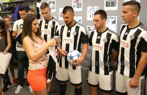 FK Partizan 2015/16 adidas Home Kit – FOOTBALL FASHION.ORG