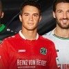Hannover 96 Jako 2015 2016 Home, Away and Third Kit, Shirt, Soccer Jersey, Trikot