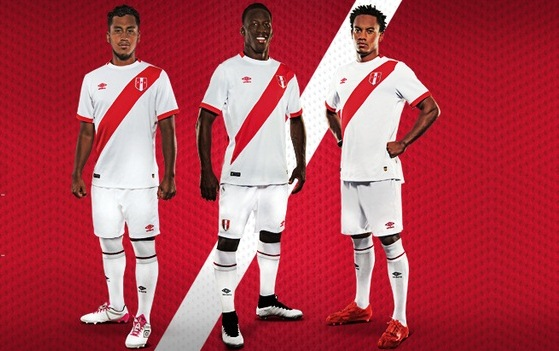 f7431cfa3 Umbro Peru 2018 Black Jersey M 5b4d3e14e944ba2776a5d661 Source · Peru 2015  16 Umbro Home Jersey FOOTBALL FASHION ORG