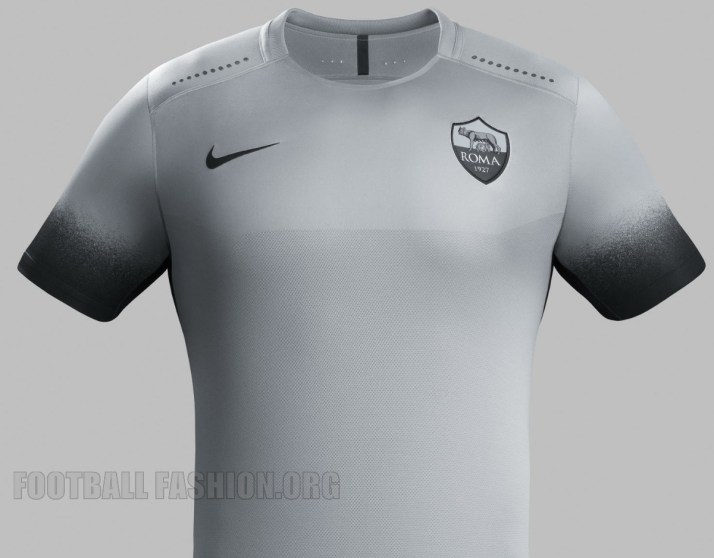 AS Roma 2015 2016 Nike Third Football Kit, Soccer Jersey, Shirt,Camiseta, Maglia, Gara