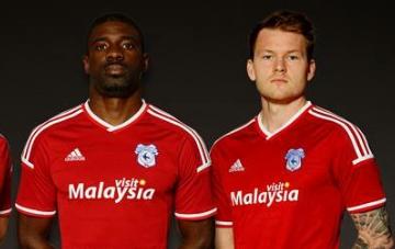Cardiff City Football Club 2015 2016 adidas Away and Third Kit, Soccer Jersey, Shirt