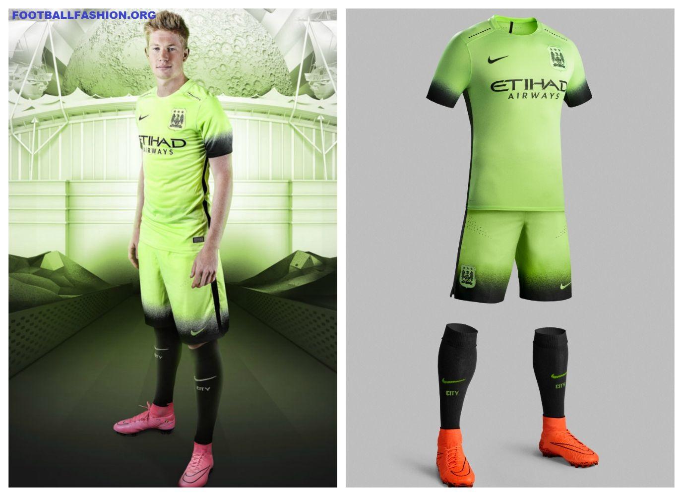 Manchester City 2015/16 Nike Third Kit - FOOTBALL FASHION.ORG