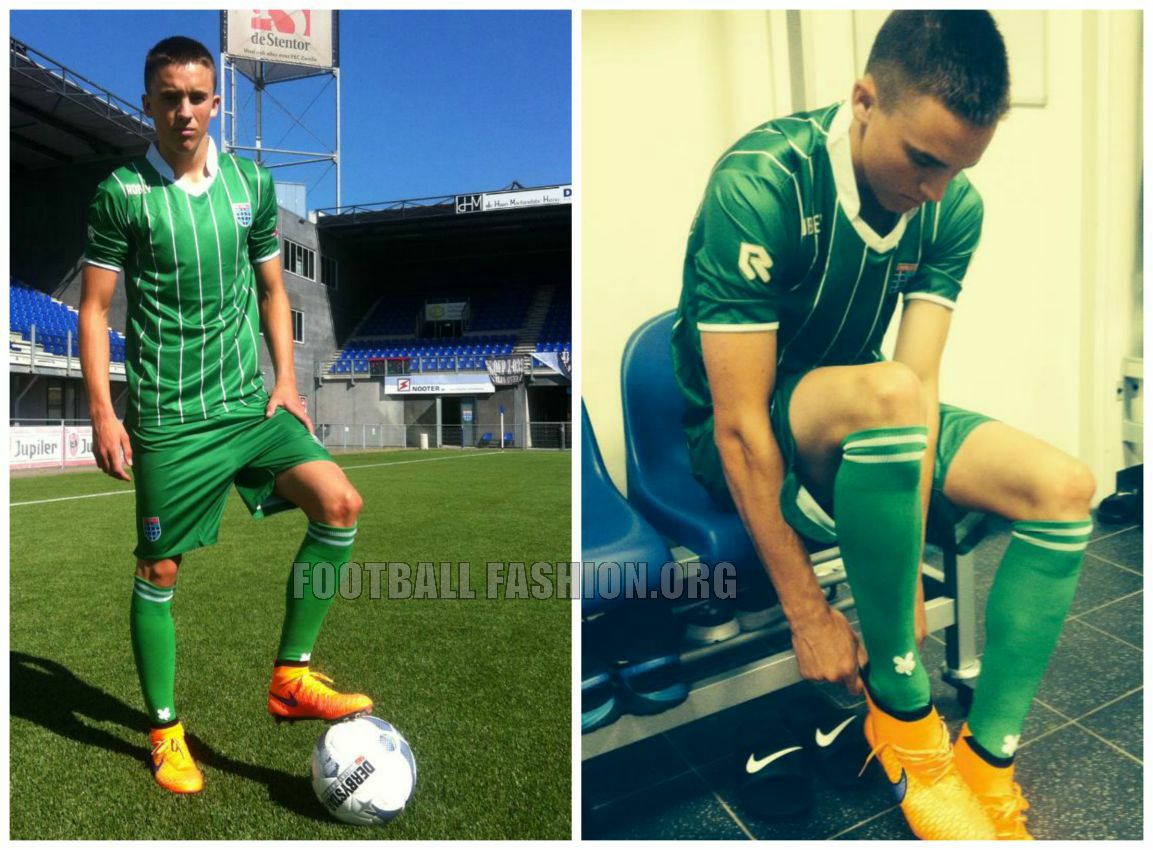 Pec Zwolle 2015 16 Robey Home And Away Kits Football Fashion