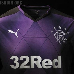 Rangers Football Club 2015 2016 PUMA Third Kit, Soccer Jersey, Shirt