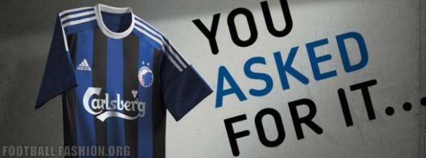 FC Copenhagen 2015 2016 adidas Away Football Shirt, Kit, Soccer Jersey, Spilletrøje