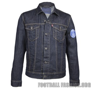 Paris Saint-Germain x Levi's Trucker Jacket PSG