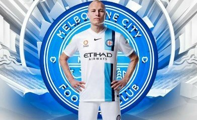 Melbourne City FC 2015 2016 Nike Home and Away Football Kit, Soccer Jersey. Shirt
