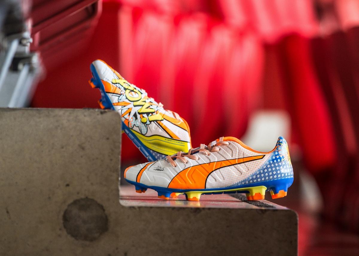PUMA evoPOWER 1.2 Pop Art Football Boot FOOTBALL FASHION.ORG