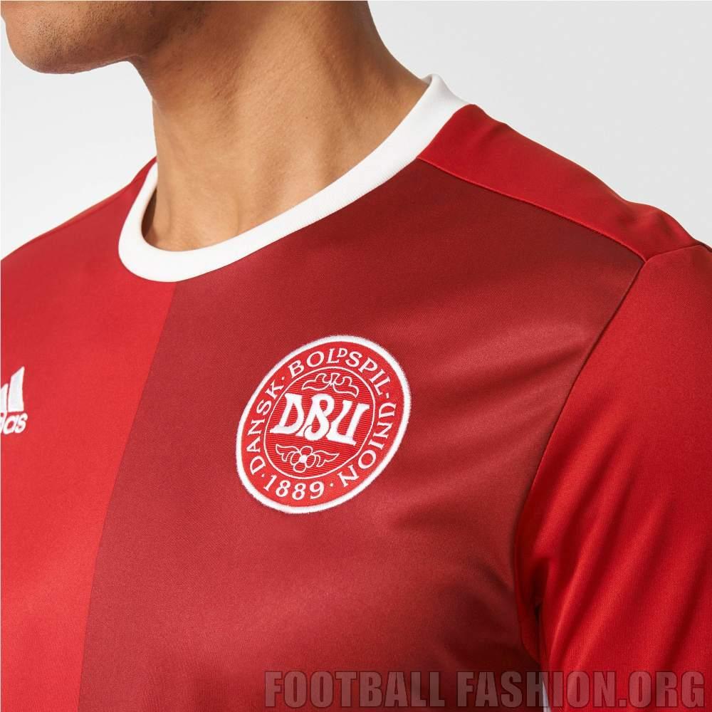 598f5249f Denmark 2016 17 adidas Home Kit - FOOTBALL FASHION.ORG