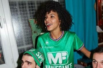 AS Saint-Étienne 1970s le coq sportif Retro Soccer Jersey, Shirt, Kit, Maillot AS Saint-Etienne Manufrance