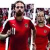 Austria EURO 2016 PUMA Home Football Kit, Soccer Jersey, Shirt, österreichische Heun Trikot