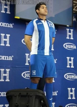 Honduras 2016 Joma Home, Away and Third Soccer Jersey, Football Shirt, Kit, Camiseta, Piel, Equipacion del Rumbo al Mundial 2018