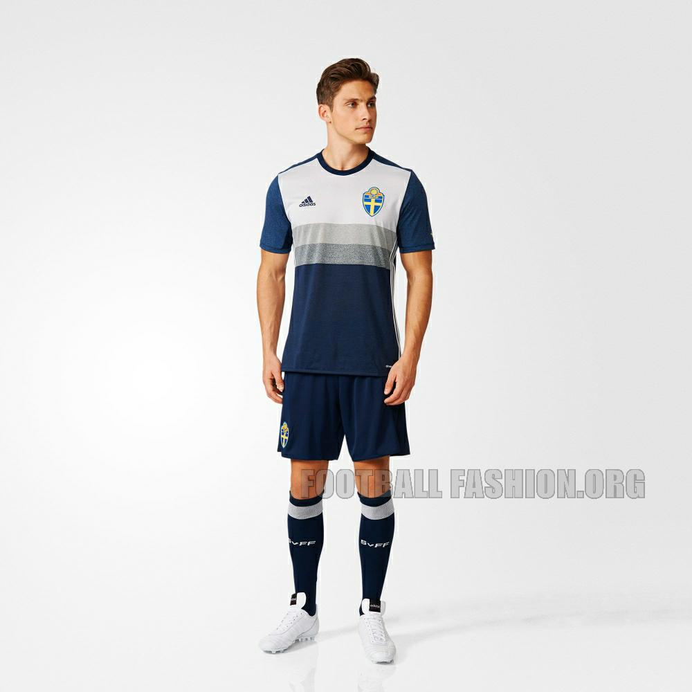 c6ea8a8ce9 Sweden EURO 2016 adidas Away Kit – FOOTBALL FASHION.ORG