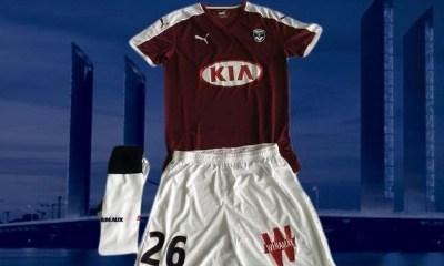 Girondins de Bordeaux 2015 206 PUMA Fourth Football KIt, Soccer Jersey, Shirt, Maillot