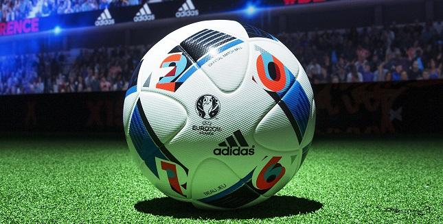 adidas beau jeu official match ball of the uefa euro. Black Bedroom Furniture Sets. Home Design Ideas