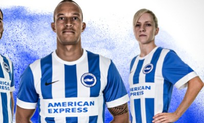 Brighton & Hove Albion 2015 2016 Nike Home, Away and Third Football Kit, Soccer Jersey, Shirt