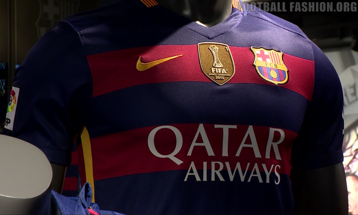 45bbeb77a The defending UEFA Champions League champions will debut the new patch on  their home jersey when they host Real Betis at the Camp Nou on December 30.