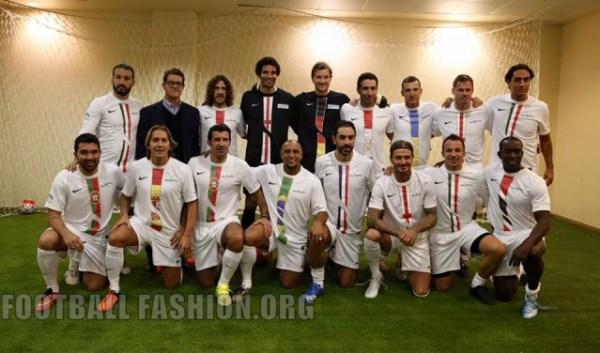 Football Champions Tour International All-Stars Nike Kit 2016