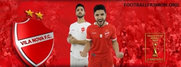 Vila Nova Futebol Clube 2016 Rinat Football KIt, Soccer Jersey, Shirt, Camisa