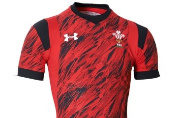 Wales 2016 Rugby Sevens Under Armour Home Kit, Shirt, Jersey