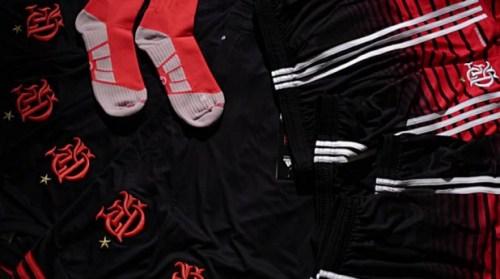 CR Flamengo 2016 Black adidas Third Football Kit, Shirt, Soccer Jersey, Camisa Preta Urubu