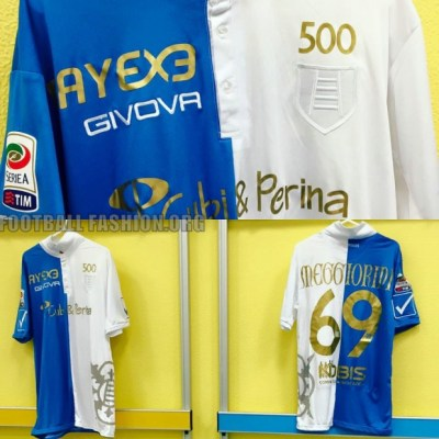 Chievo Verona 500th Serie A Match Football Kit, Soccer Jersey, Shirt, Gara, Maglia
