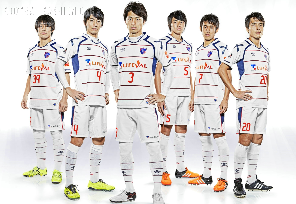 It uses the same umbro japan kit template as the club s home jersey