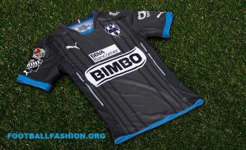 Rayados de Monterrey 2016 PUMA Third Soccer Jersey, Football Kit, Shirt, Camiseta de Futbol Alternativa, Piel, Playera, Equipacion