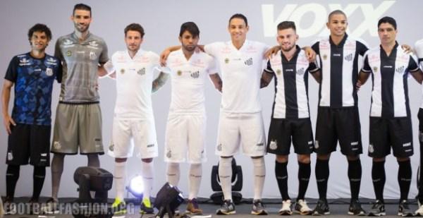 Santos FC Unveil 2016 Kappa Home and Away Football Kit, Soccer Jersey, Shirt, Camisa do Futebol, Camiseta