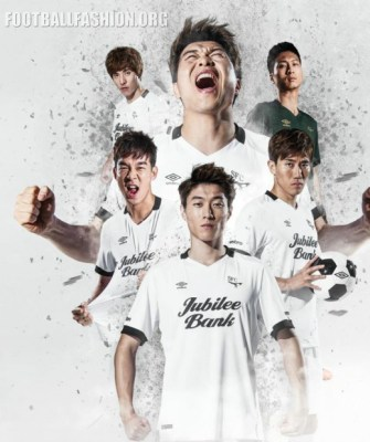 Seongnam FC 2016 Umbro Home and Away Football Kit, Soccer Jersey, Shirt