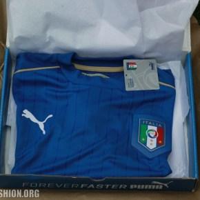 Unboxing the Italy EURO 2016 PUMA Blue Home Football Kit, Soccer Jersey, Shirt, Gara, Maglia, Camiseta