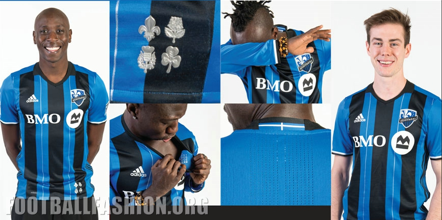promo code 0f885 26df0 Montreal Impact 2016 adidas Home Jersey - FOOTBALL FASHION.ORG