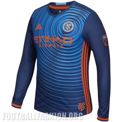New York City FC Reveals adidas 2016 Away Soccer Jersey, Shirt, Football Kit, Camiseta de Futbol