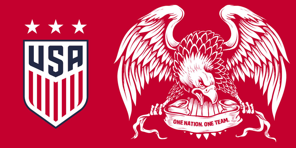 Calendar Year Us Soccer : Us soccer rebrands with first new crest since