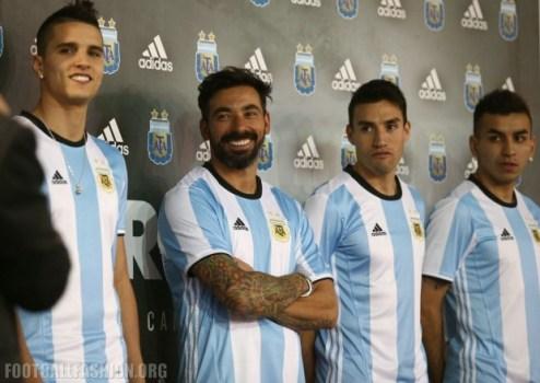 Argentina 2016 2017 Copa América Centenario adidas Home Soccer Jersey, Shirt, Football Kit, Camiseta de Futbol