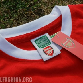 Up-Close: Arsenal FC 1971 Home Football Kit, Shirt, Soccer Jersey