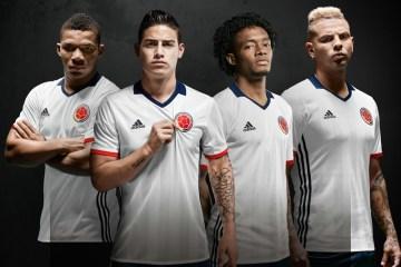 Colombia 2016 Copa América adidas Special Edition White Soccer Jersey, Football Kit, Shirt, camiseta edición especial Blanca de Futbol. Selección