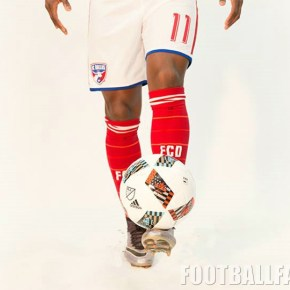 """4ee6771605e """"Dallas 'Til I Die"""" is printed on the kit's inside neck taping. The FC  Dallas 2016 adidas home ..."""
