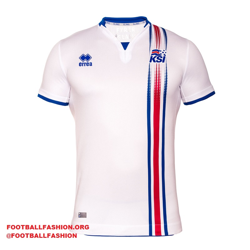 ea025605a2d Iceland EURO 2016 Errea Home and Away Kits - FOOTBALL FASHION.ORG
