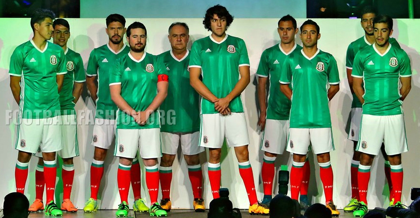 Image gallery mexico jersey 2017 for Cuarto kit del america 2018