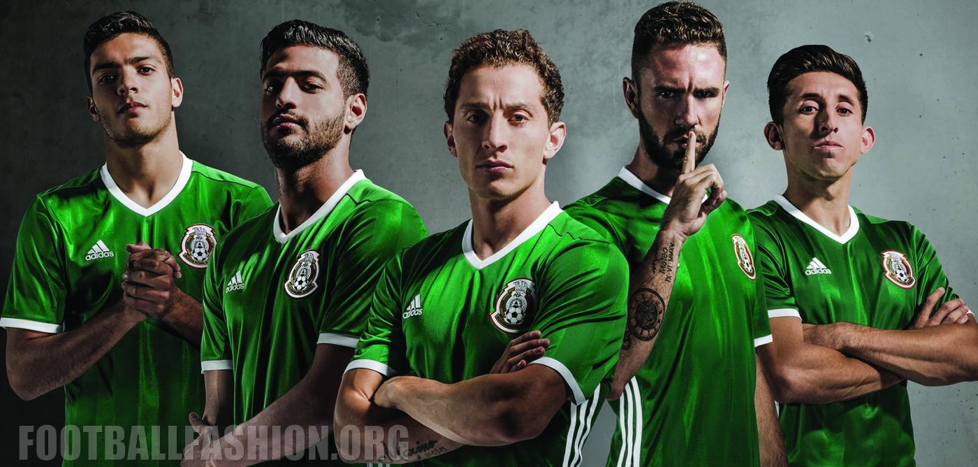 902ccd607 Mexico 2016 Copa América Centenario adidas Home Jersey - FOOTBALL ...