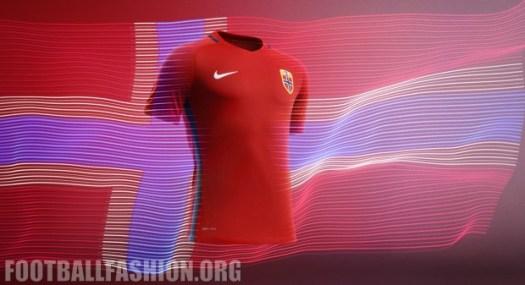 Norway 2016 2017 Nike Home and Away Football Kit, Soccer Jersey, Shirt, Landslagsdrakt