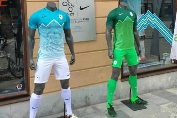 Slovenia 2016 2017 Nike Home and Away Football Kit, Shirt, Soccer Jersey, Dres