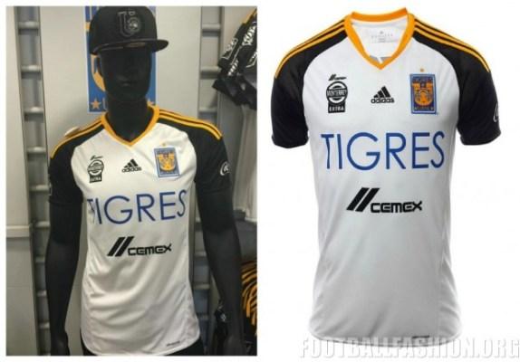 Tigres UANL 2016 adidas Third Jersey