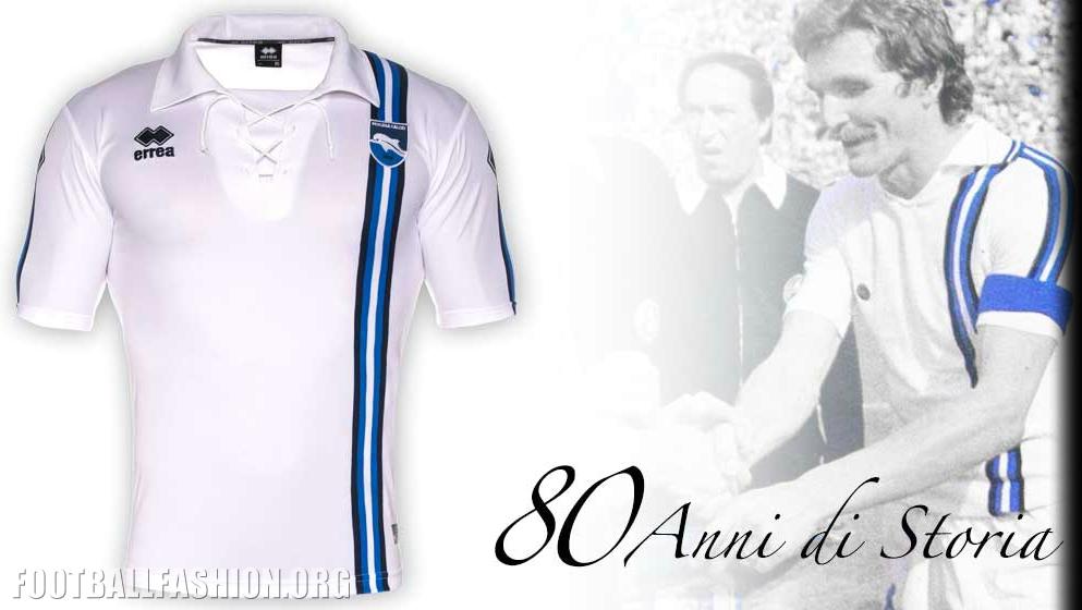 Pescara Calcio 80th Anniversary Errea Jersey   FOOTBALL ...