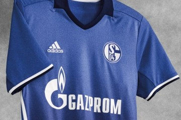 Schalke 04 2016 2017 2018 adidas Home Football Kit, Soccer Jersey, Shirt, Trikot